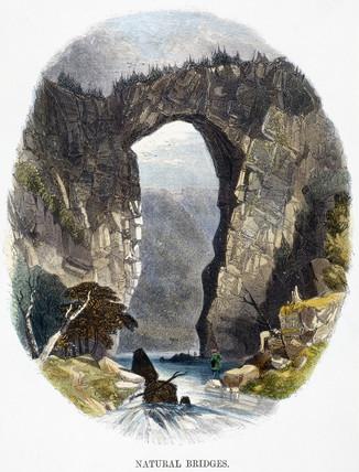 'Natural bridges', 1849.