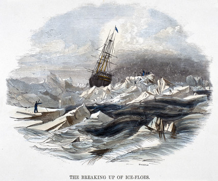 'The Breaking Up of Ice-Floes', 1849.
