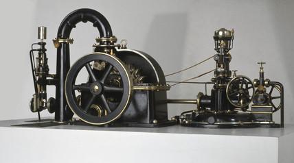 Pelton wheel, c 1900.