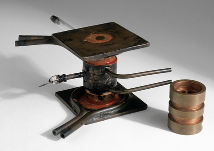 The original cavity magnetron is on display in Making the Modern World
