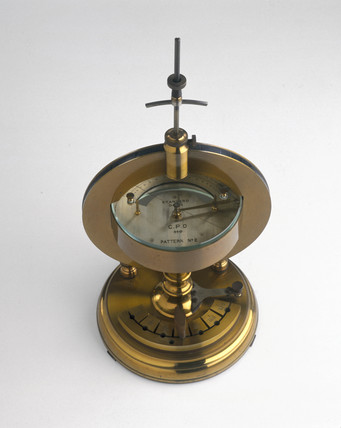 Tangent galvanometer, 1900.