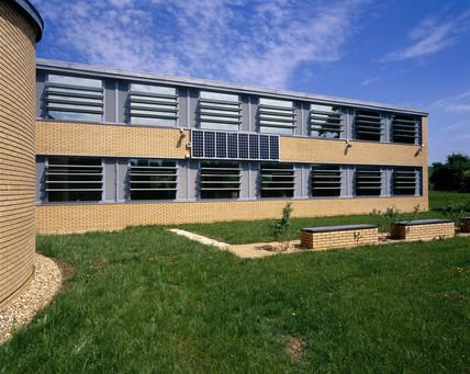 Small Photovoltaic array, Buckinghamshire, May 2001.