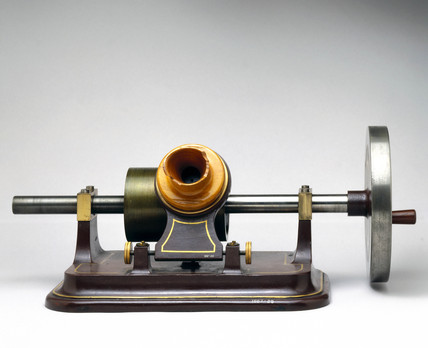Tinfoil phonograph, c 1885.