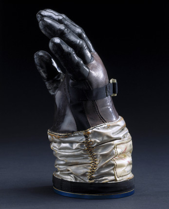 Gemini development glove, 1965-1966.