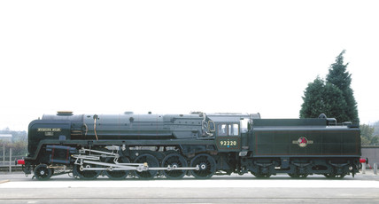 'Evening Star', 2-10-0 Clas 9F steam locom