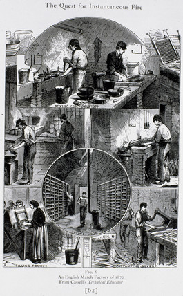 'An English Match Factory of 1870'.