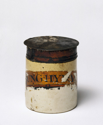 Dispensing pot, English, 1851-1900.