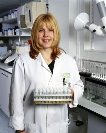 Urine samples, Drug Control Centre, King's College, London, 2000.