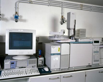 Gas chromatography mas-spectrometer, 2000.