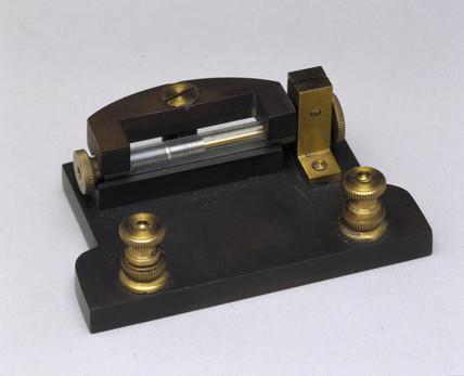 Detector used in Marconi's original transatlantic radio tests, 1901.