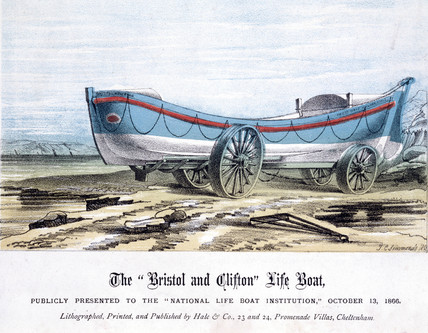 'The Bristol and Clifton Life Boat', 1866.