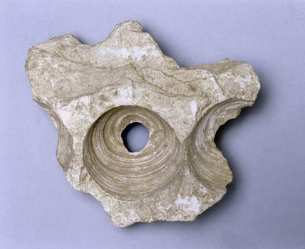 Sandstone blockhead, Egypt, c 3000 BC.