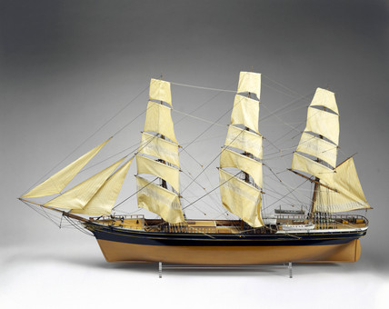 Sailing clipper 'Stonehouse', 1866.