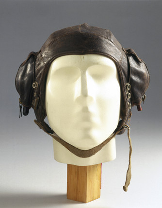 Flying helmet, Air Ministry, c 1941.