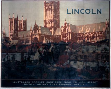 'Lincoln', LNER poster, 1924.