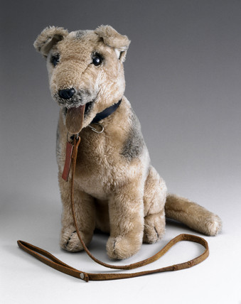 Toy dog on a lead, 2001.