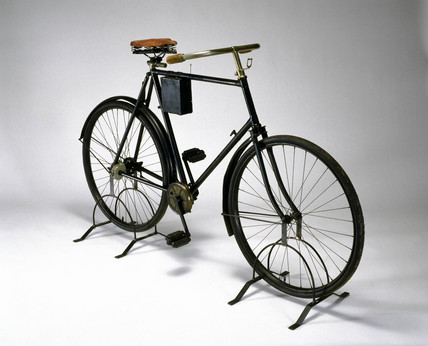 Chainles 'Quadrant' bicycle, 1898.