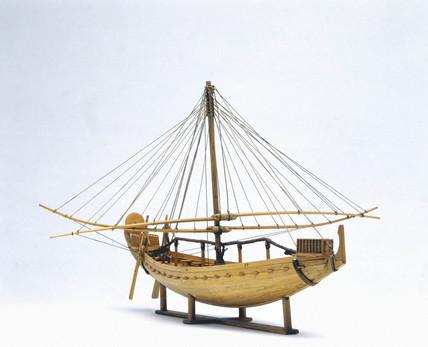 Egyptian seagoing sailing ship, c 1500 BC.