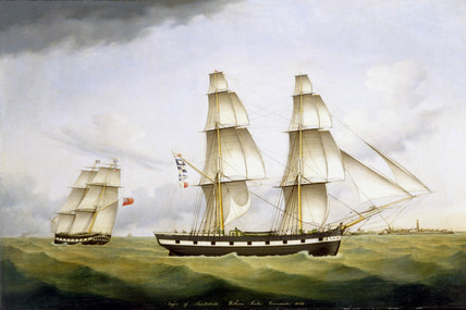 'Niger of Sunderland William Souter Commander', 1852.