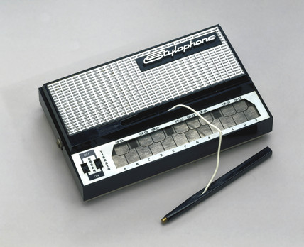 Stylophone, electronic mini organ, c 1968.