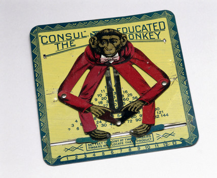 'Consul' the Educated Monkey, 1916.