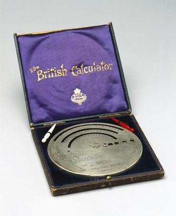 The 'Brical' British calculator, 1905.