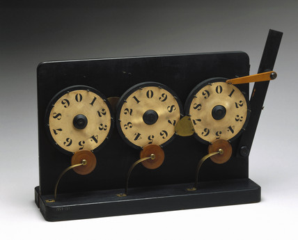 Mechanical counter, mid 19th century.