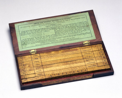 Smith and Dolier's arithmetical scales, late 19th century.