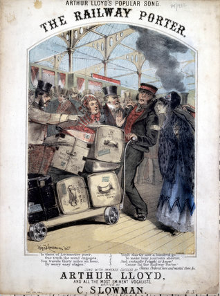 'The Railway Porter', 1870.