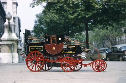 Goldsworthy Gurney steam coach, 1827.