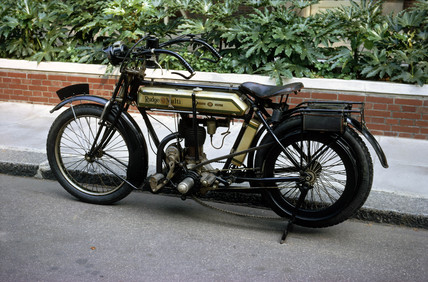 Rudge 'Multi' motorcycle, 1911.