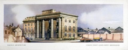 'Curzon Street Goods Depot, Birmingham', 1950-1955.