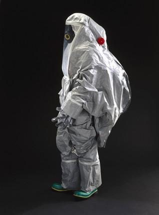 Bio-hazard suit, 2001.