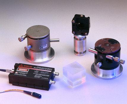 Components from a teleportation kit, 2002.