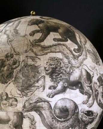 Celestial globe, 1878.