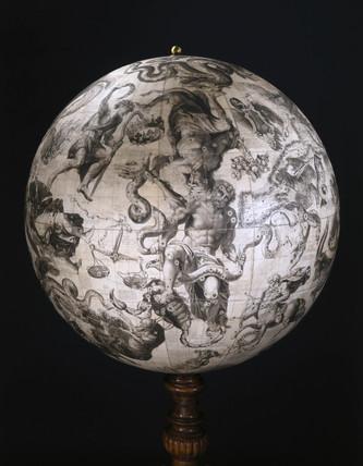 Celestial globe, 1693.