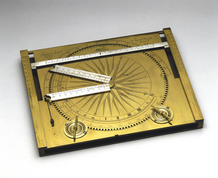Trigonometrical calculator, 1664.