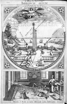 Astronomers at work, 1630.