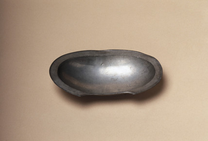 Barber's shaving bowl, c 1701-1800.