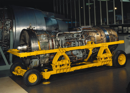 Rolls Royce Olympus 593 Mark 3B aero-engine, c 1969.