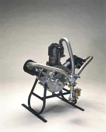 3-cylinder Anzani aeroplane engine, 1908.