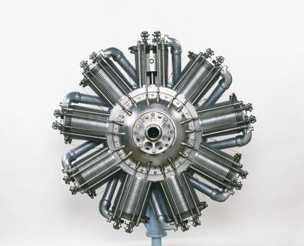 Bentley BR2 aero engine, 1918.