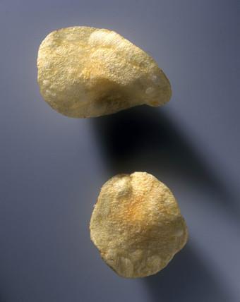 Potato crisps, 1998.