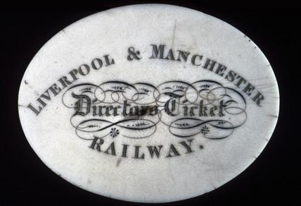 Liverpool & Manchester Railway Director's ticket, c 1870s.