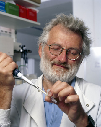 Sir John Sulston, English pioneering researcher in genomics, 2002.