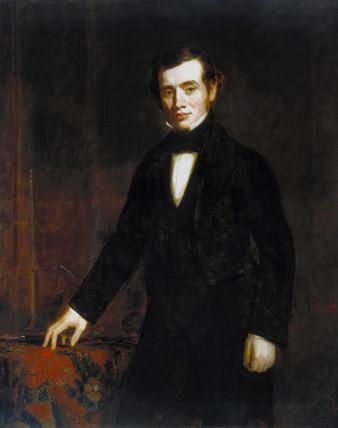 Thomas Graham, Scottish chemist, 1860.