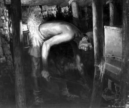 Coal miner, c 1930.