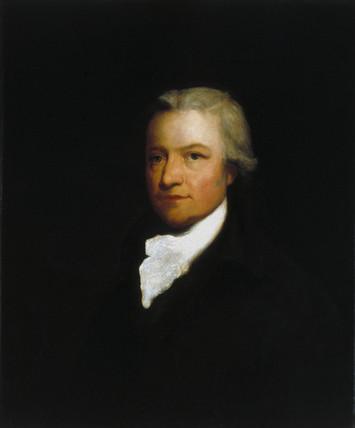 Edmund Cartwright, British textiles pioneer c 1800.