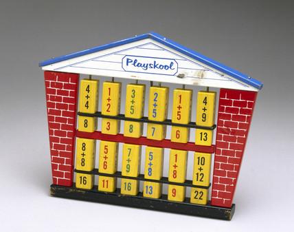 'Playskool' wooden toy, 1960-1980.