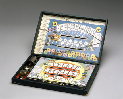 The 'Tell Bell' educational game, English, 1928-1932.